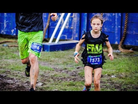 9-Year-Old Girl Finishes 24-Hour Navy SEAL Inspired Obstacle Course