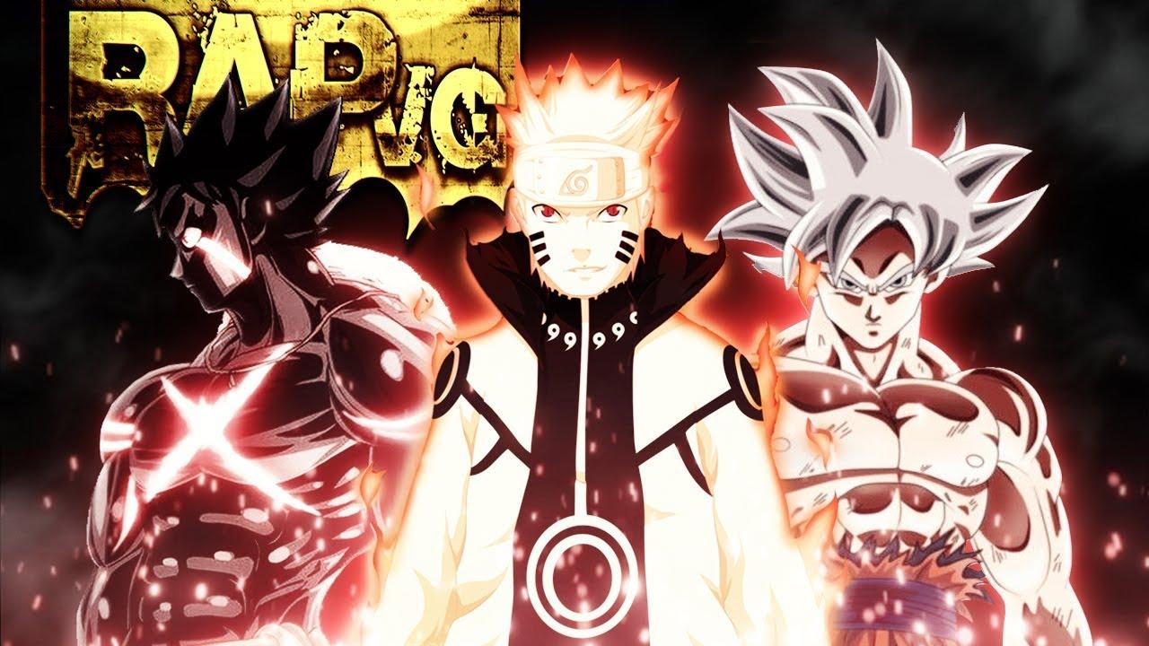 Rap Motivação Ll Só Sei Que Não Vou Desistir Naruto Goku