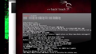 Backtrack 5 install / VMware / Mac