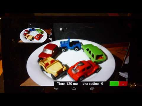 Android : Real Time Image Processing using RenderScriptIntrinsics