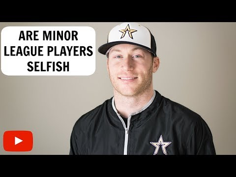 Are Minor League Players Selfish?