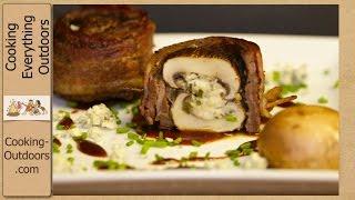 Steak And Mushroom Scallops | Tailgate Recipe