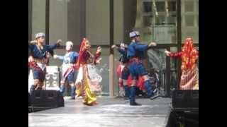 mozaik folklore group 39 s harmandali at 2012 chicago turkish festival