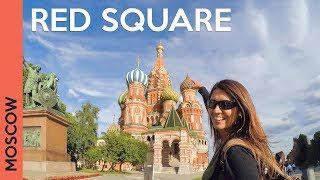 Red Square in MOSCOW, RUSSIA: Saint Basil