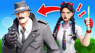 CLUE Board Game Undercover MYSTERY in Fortnite