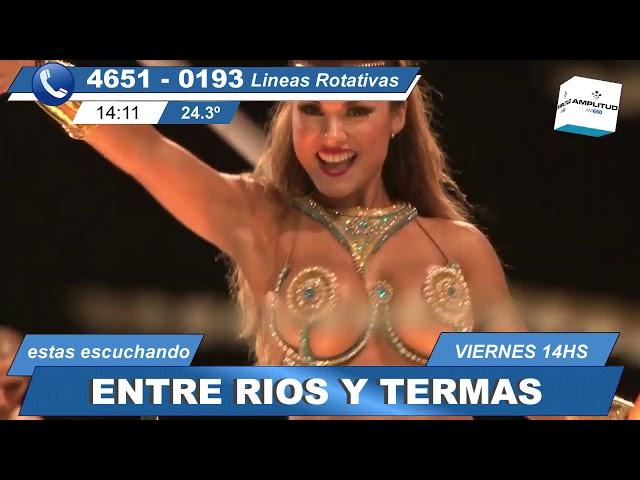 entre ríos y termas (29 3 19), el programa de turismo y cultura de Entre Ríos.