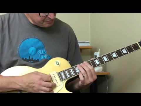 Jimmy Rogers Guitar Lesson - RockThis House Solo Part 1 (Reggie Boyd)
