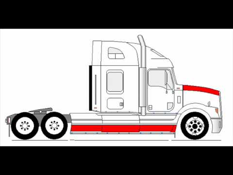 Cartoon Semi Trucks further Trailer Wiring as well Watch besides Watch additionally Oshkosh M1070. on semi tractor trailer
