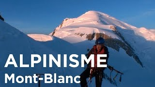 Traversée du Mont-Blanc Aiguille du Midi Mont-Blanc du Tacul Mont Maudit alpinisme - 7991
