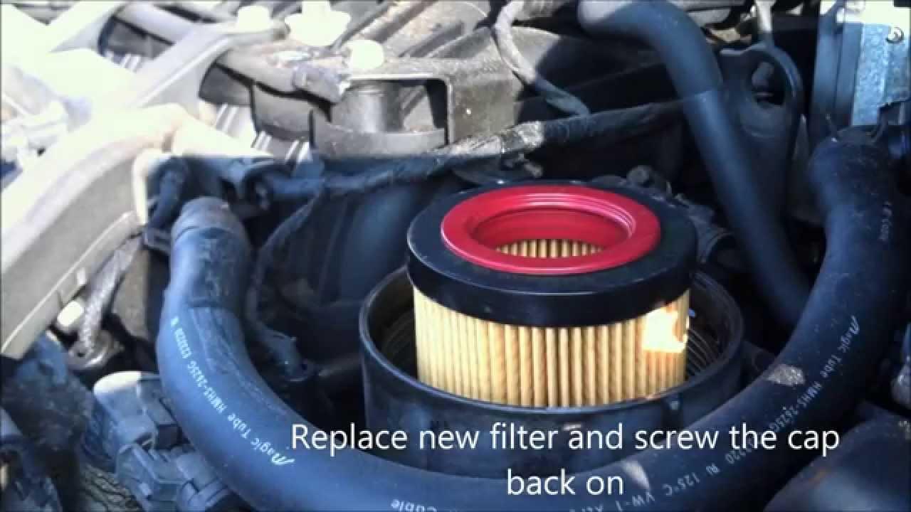 2008 Kia Sorento Fuel Filter Diy How To Oil Change A Hyundai Entourage And Kia Sedona