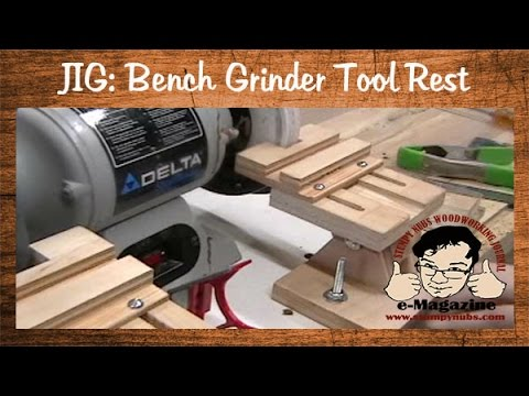 How To Build Sharpening Jig For The Bench Grinder Woo