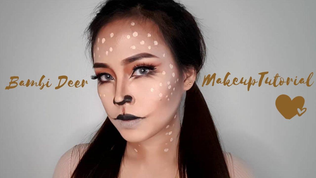 Bambi Deer Makeup Tutorial / Easy and cute /Aly Balane #makeuptutorial #pinaymakeup #animalistic