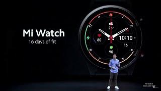 Xiaomi Mi Watch First Look
