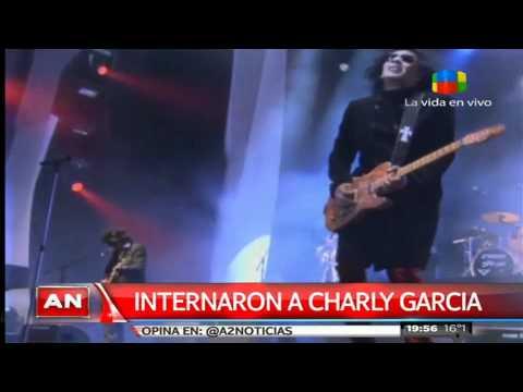 Charly García está internado con gastroenteritis