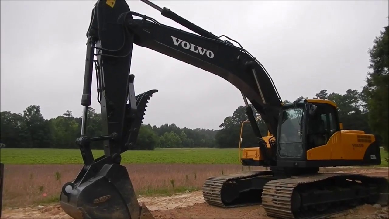 Our New Volvo 290CL Excavator - YouTube