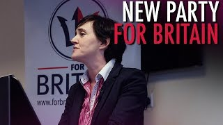 Tommy Robinson: Anne Marie Waters Launches
