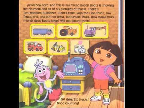 Dora and the Stuck Truck - Read Aloud - Children's Book - Dora the Explorer