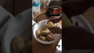Easily Remove Potato Skins No Potato Peeler