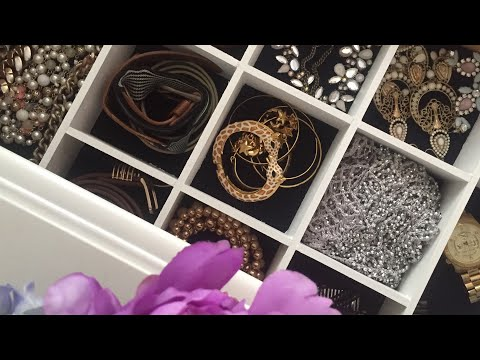 DIY Customized Jewelry Drawer Organizer | Declutter + Organize Your Accessories | Nia Nicole