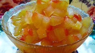 Как сварить варенье из арбузных корок | Рецепт | Вкусно