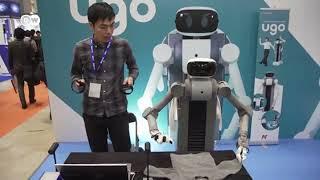 ሮቦት የቤት ሰራተኛ   UGO The multi purpose household robot of the future   ከዶቼ ቬለ ጋር በመተባበር የቀረበ    DW