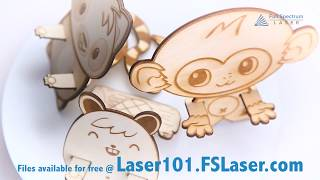 Phone Holder Animals!  Free Laser Cutting Project from Full Spectrum Laser