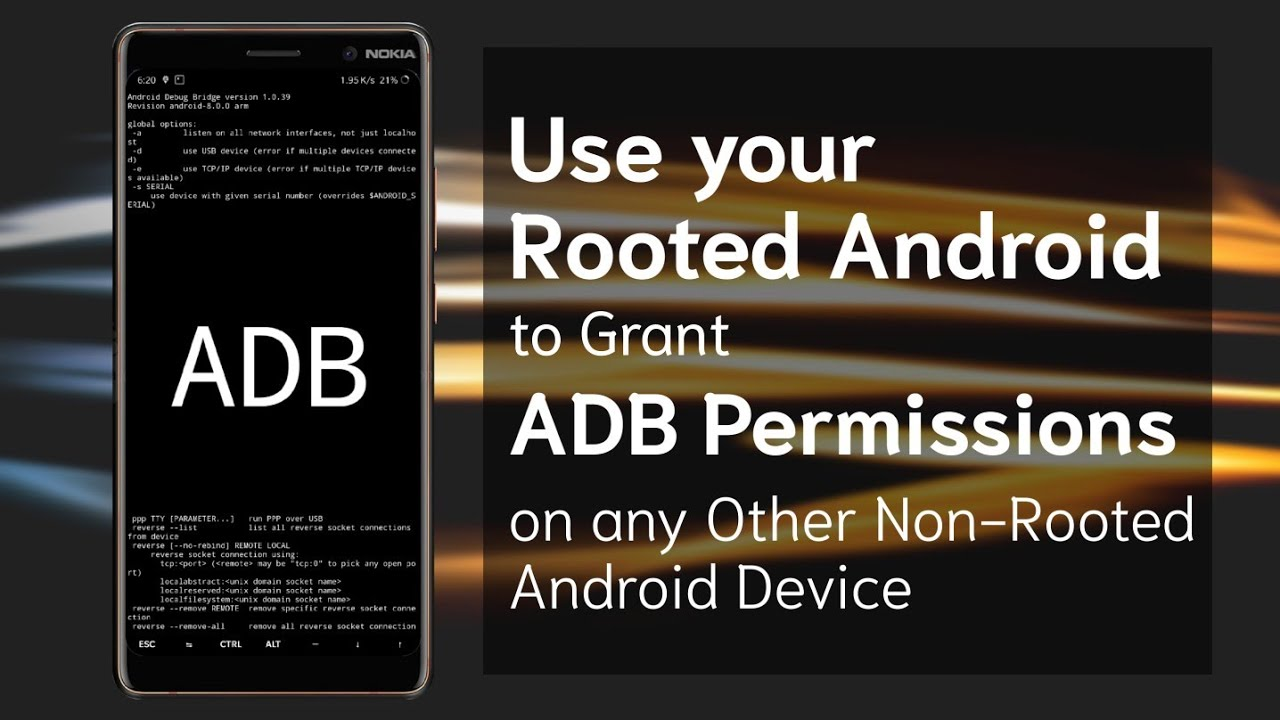 Use any Rooted Android to Grant ADB Permissions on any other Non-Rooted  Android Device |Rooted #1|TF