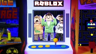 Roblox Adventures - STUCK IN AN ARCADE GAME IN ROBLOX! (Video Game Arcade Obby)