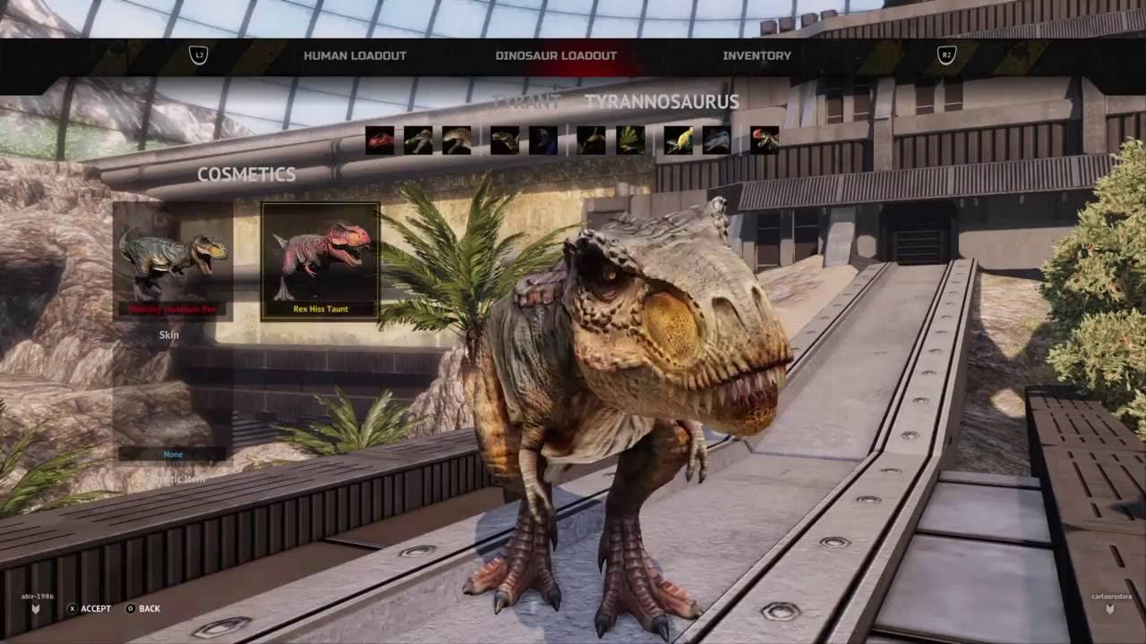 Dino Crisis 2 T-Rex Rampage!!! | Primal Carnage: Extinction PS4 |  CarlosTnT_OwO