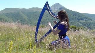 The Hobbit & The Lord of the Rings - Medley - harp / harpe