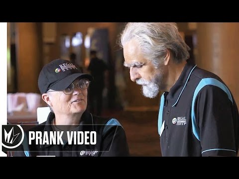 Regal Cinemas PRANK Theatre Training Video with Eugenio Derbez - How to be a Latin Lover [HD]