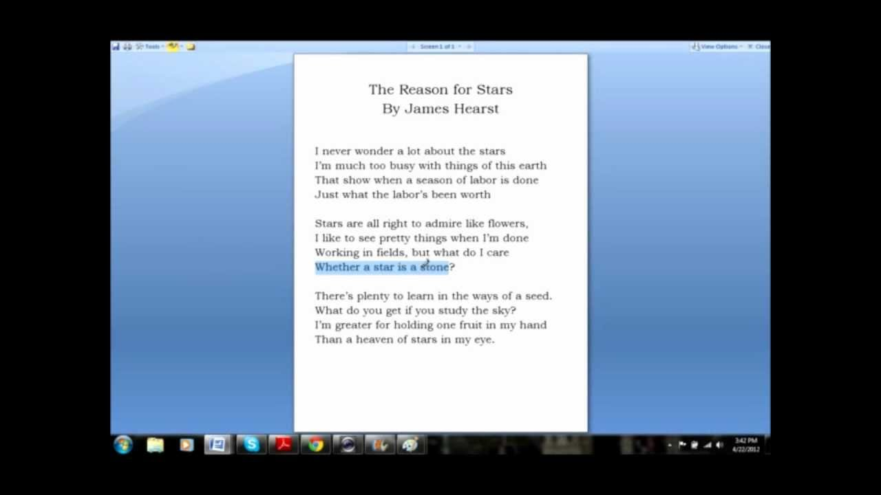 How To Do A Close Reading Of A Poem Youtube