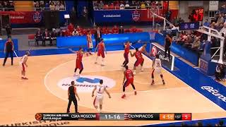 CSKA-Olympiacos (89-81): Georgios Printezis season high 24 pts   Eurohoops