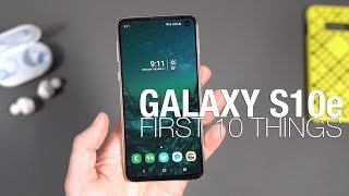 Download Galaxy S10e First 10 Things to Do! Mp3 and Videos