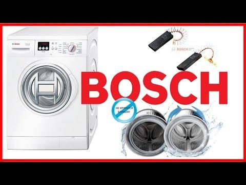 Стиральная машина Bosch не крутит барабан или как поменять щетки.