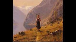 Norsk folkemusikk Folkedans Gangar  Norwegian folk dance on the harmonic flute