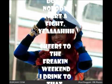 Rihanna - Cheers (Drink To That) LYRICS