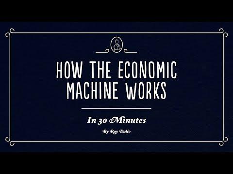 La mécanique de la machine économique en 30 minutes, par Ray Dalio