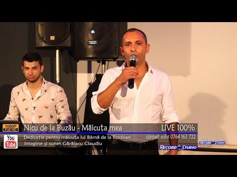 Nicu de la Buzau - Maicuta mea LIVE (dedicatie pentru Barna de la Rovinari)