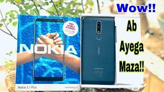 Nokia 3.1 Plus Unboxing +Giveaway - Best Value For Money Phone!!