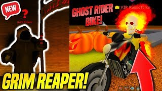 *NEW* GHOST RIDER AND GRIM REAPER IN SUPER POWER TRAINING SIMULATOR UPDATE! (Roblox)
