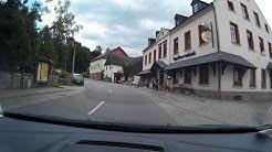 Von Raschau (Erzgebirge) durch Pöhla bis Globenstein mit dem Auto