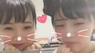 村雲颯香 NGT48 12 00〜『24時間テレビ 愛は地球を救う』ステージでライ...