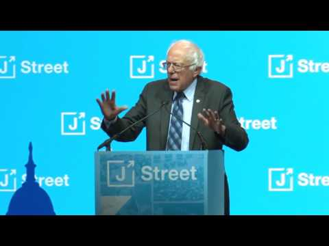 Bernie Sanders on Anti-Semitism, Israel, and Palestine at J Street Conference 2/27/17