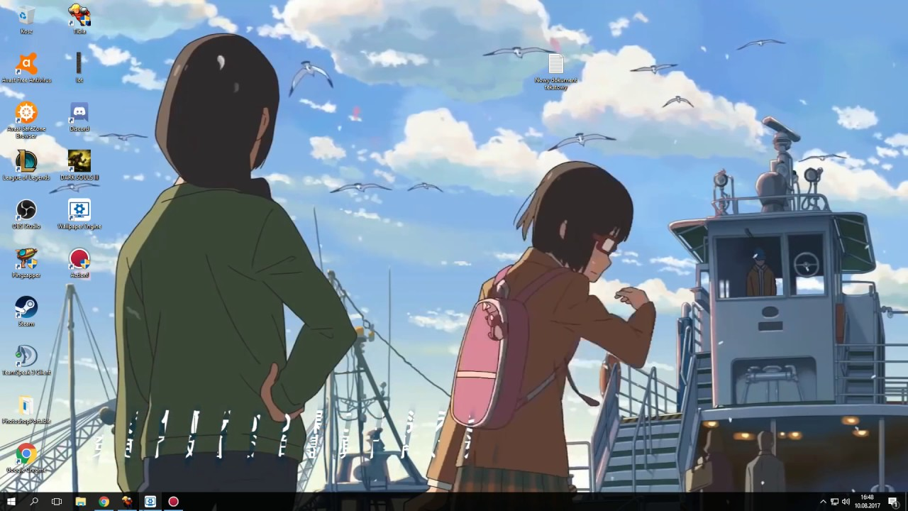 Makoto Shinkai Mix Anime Wallpaper Engine Youtube