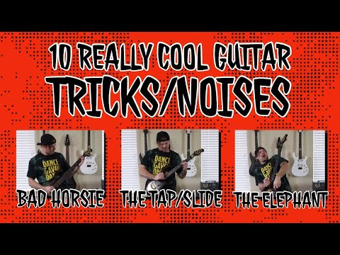 10 really cool guitar tricks/noises image