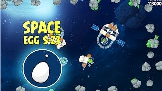 Angry Birds Space S-23 Beak Impact Bonus Level Walkthrough