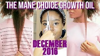 December 2016 Update: The Mane Choice Growth Oil | Length Retention Journey