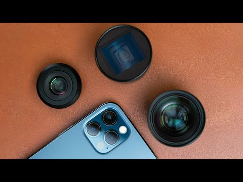 SANDMARC Lenses and Filters for iPhone 12 Pro Max, 12 Pro, 12, and 12 Mini