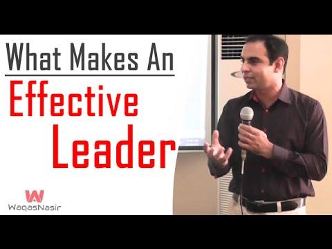 What is Leadership? & What Makes a Good Leader | Urdu/Hindi | Qasim Ali Shah